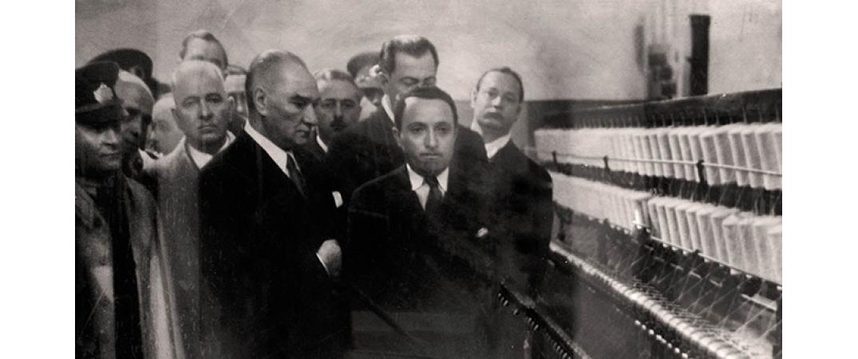 Atatürk ve Sanayi Devrimi: Dışa bağımlı ekonomiden üreten Türkiye'ye