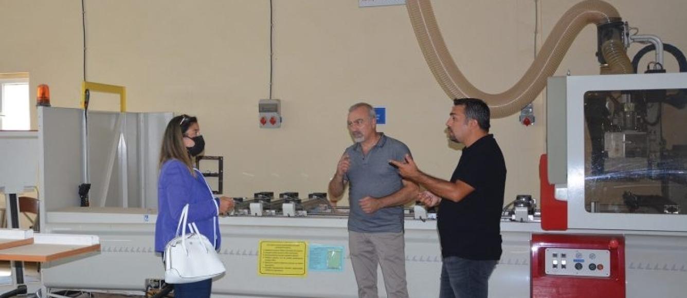 AİMSAD VE MAKSDER'DEN HAYDARPAŞA LİSESİ'NE ZİYARET