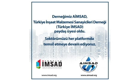 AİMSAD Türkiye İMSAD Paydaş Üyesi Oldu.