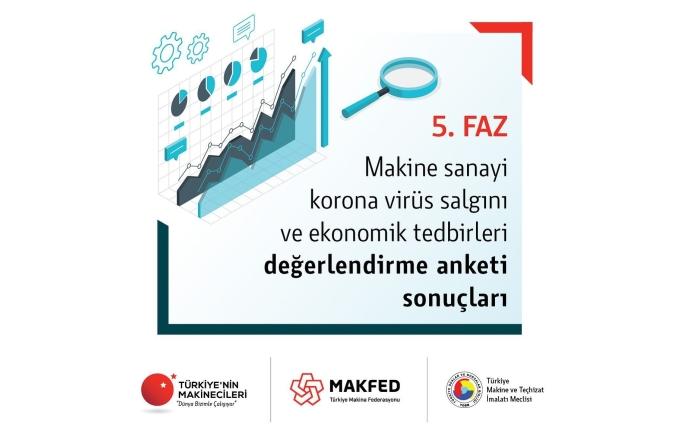Makine Sanayi Korona Virüs Salgını ve Ekonomik Tedbirleri Değerlendirme Anketi Yayınlandı