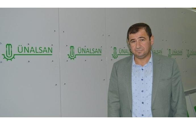 """Ünalsan Yönetim Kurulu Başkanı Halit Sezgin: """"2019 yılı yatırım planımızda yeni ürün ve yeni fabrika var"""""""