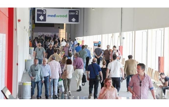 AİMSAD Atina da gerçekleşen 7. MEDWOOD fuarını ziyaret etti