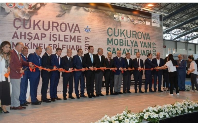 Çukurova Mobilya Yan Sanayi Fuarları sektörü biraraya getirdi