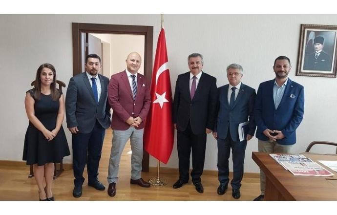 AİMSAD Heyeti'nden Ankara'ya Bakanlık ziyaretleri…