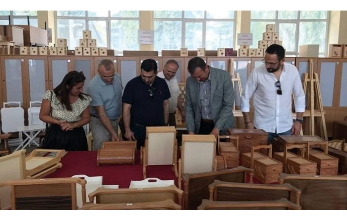 AİMSAD, Haydarpaşa Mesleki ve Teknik Anadolu Lisesi'ni ziyaret etti
