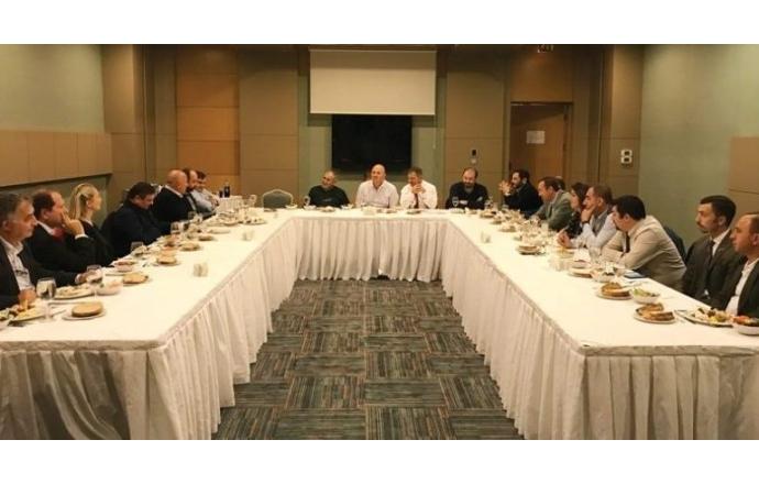 AİMSAD üyeleriyle buluşmaya devam ediyor