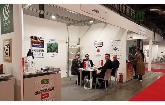 AİMSAD, İtalya Xylexpo Fuarı'nda sektörü başarıyla temsil etti